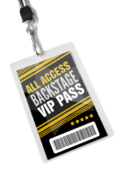 Media Credentials, Backstage Passes and More